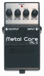 Педаль эффектов Metal Core (ML-2)